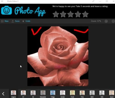 photo editor 2 filters