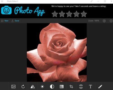 photo editor 2 options