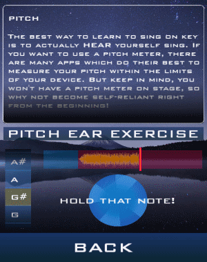 pitch exercise