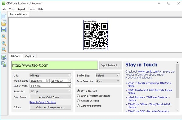 qr code generator software windows 10 1