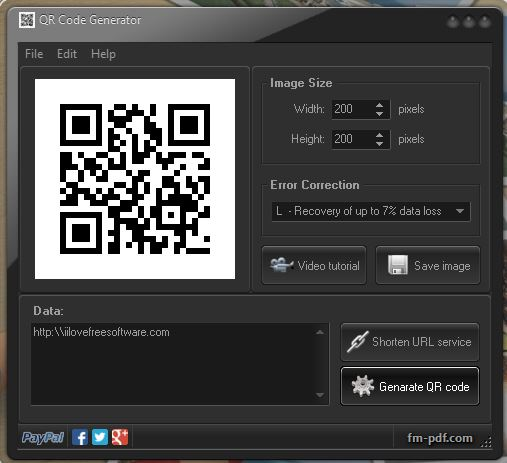 qr code generator software windows 10 2