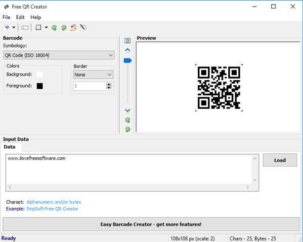 qr code generator software windows 10 4