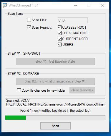 registry comparison software windows 10 4