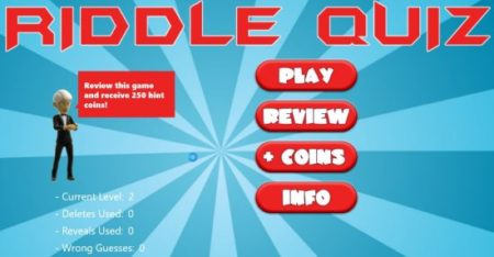 riddle quiz home