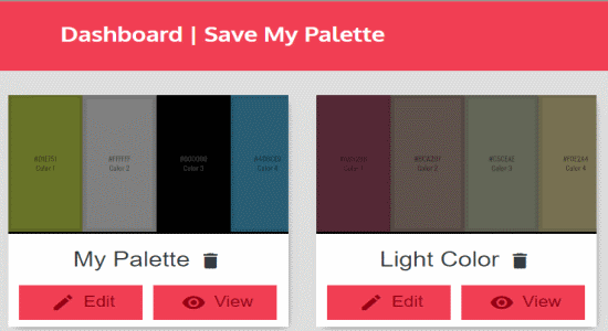 save my palette