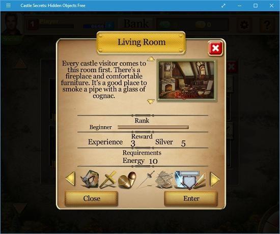 Castle Secrets Hidden Objects Free choose level