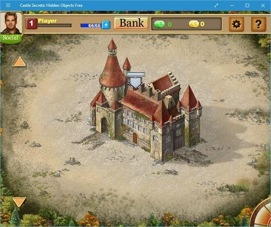 Castle Secrets Hidden Objects arrow indicator