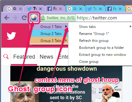 Ghost group icon