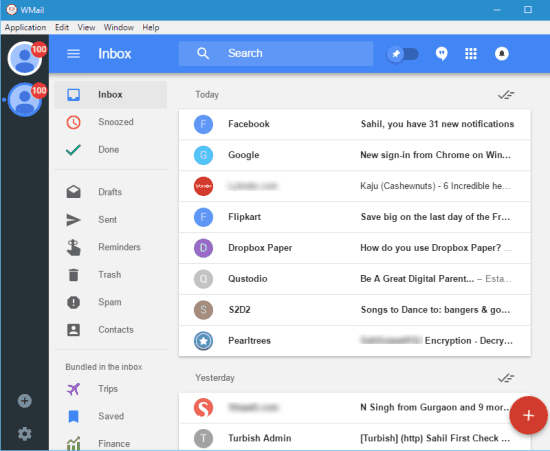 Google Inbox account