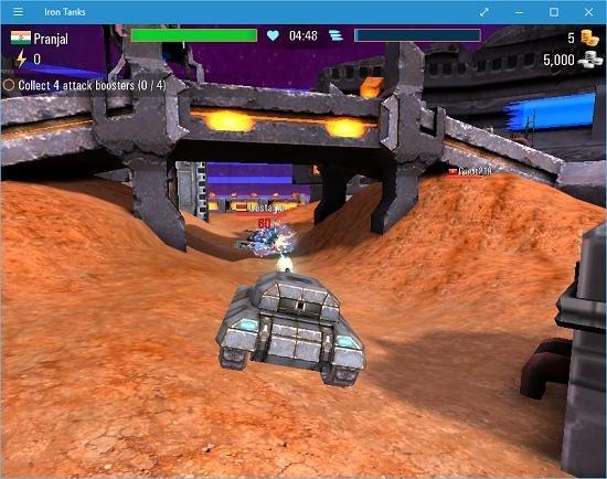 Iron Tanks gameplay
