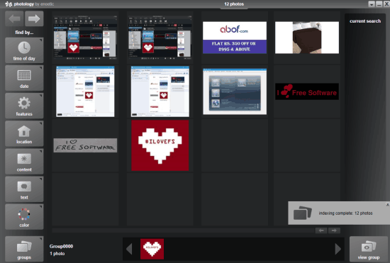 Photology- interface