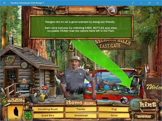 Vacation Adventures Park Ranger 2 arrow guides