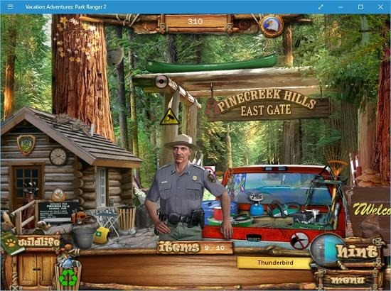Vacation Adventures Park Ranger 2 hints