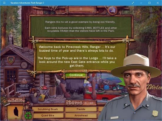 Vacation Adventures Park Ranger 2 tutorial