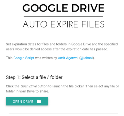 add a file or folder from google drive