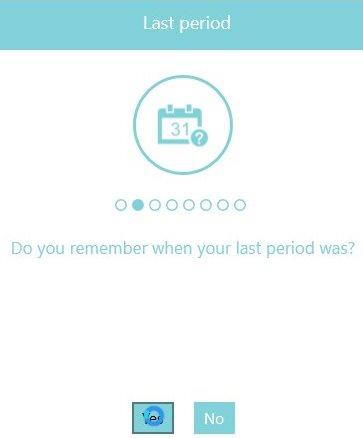 eva period tracker questions