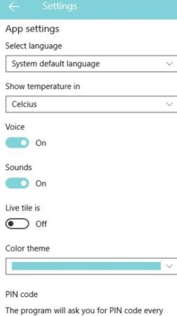 eva period tracker settings