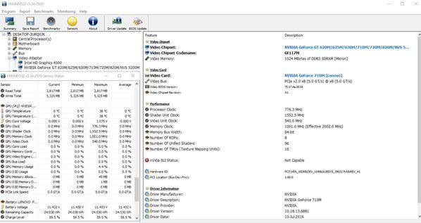 graphics card utilities windows 10 5