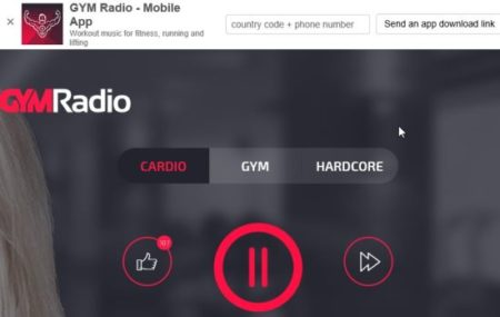 gym radio home