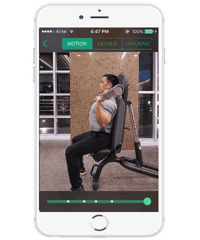 iphone weight training app