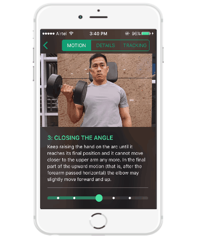 iphone weight training app