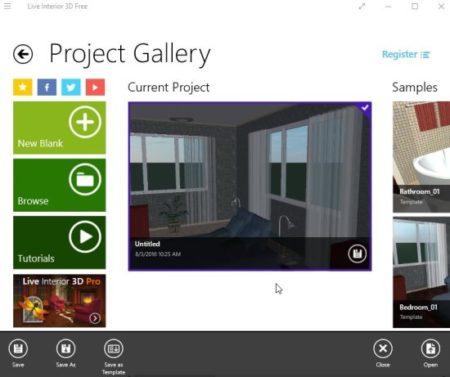 live interior 3d free home