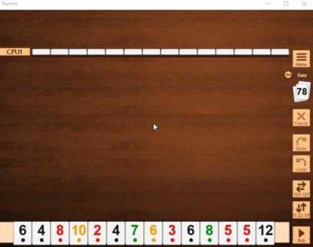rummi game board initial