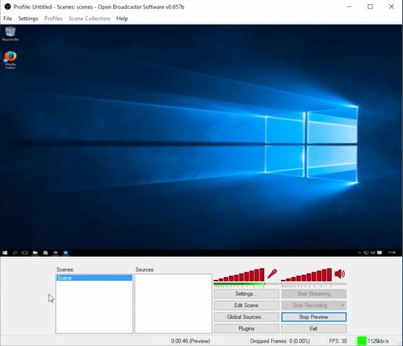 screen broadcasting software windows 10 1