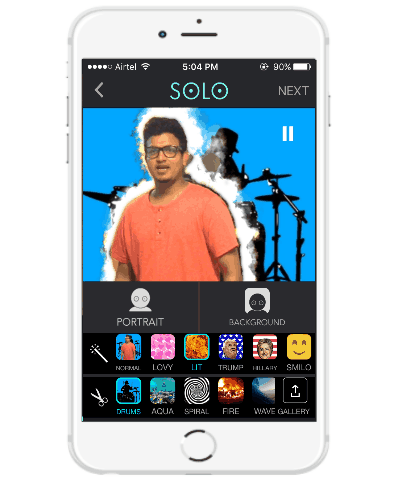 selfie video camera app