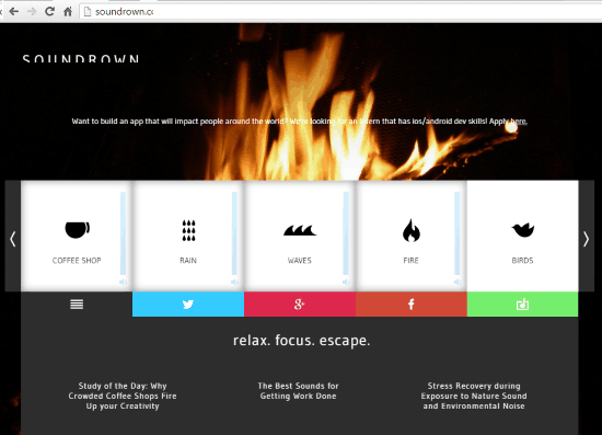 8 Free Background Sound Generator Websites for Ambient Sound