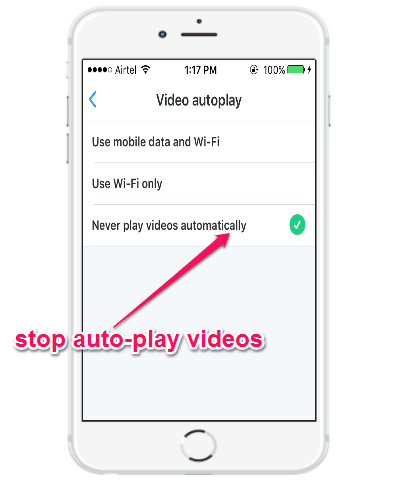 stop video tweets from autoplaying