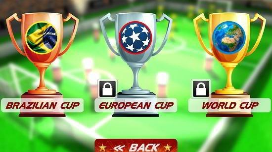 superstar pin soccer choose level