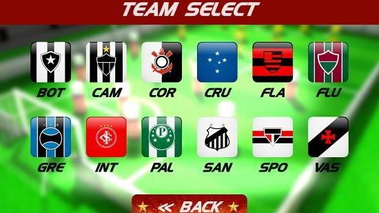 superstar pin soccer choose team