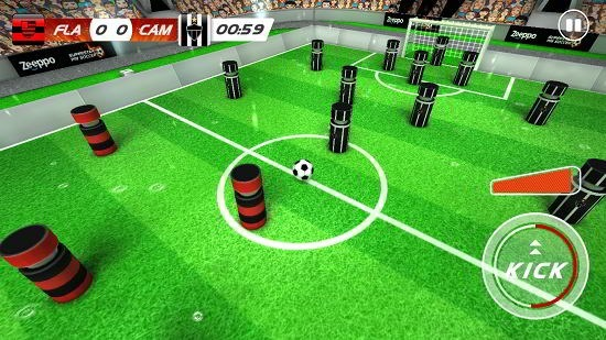 superstar pin soccer gameplay