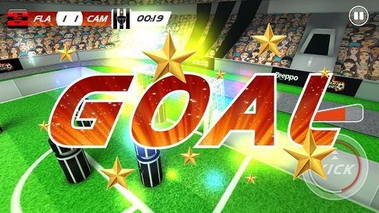 superstar pin soccer goal