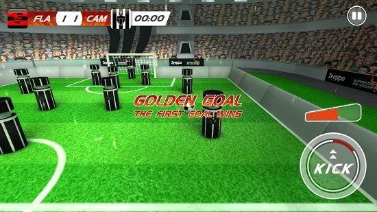 superstar pin soccer golden goal