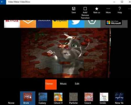 video maker videoshow theme