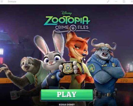 zootopia crime files home