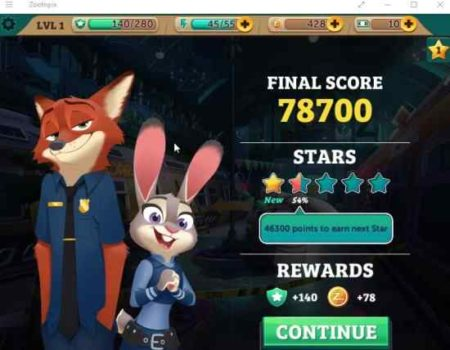zootopia crime files level up
