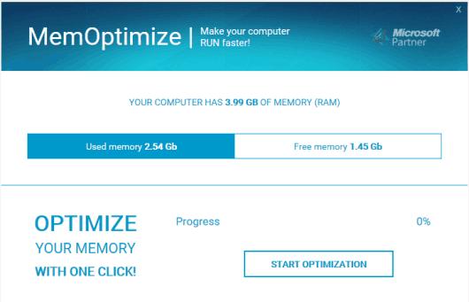 MemOptimizer- interface