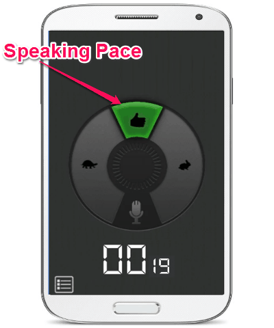 Pace Indicator