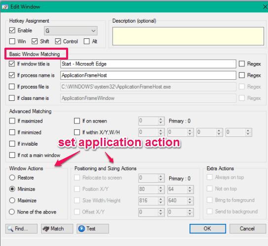 add-application-and-set-action