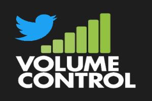 add volume control to twitter videos