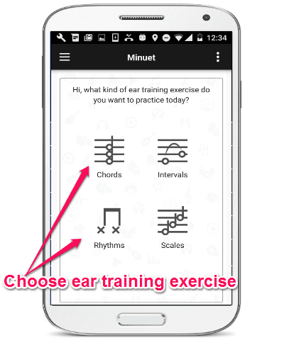 choose exercises