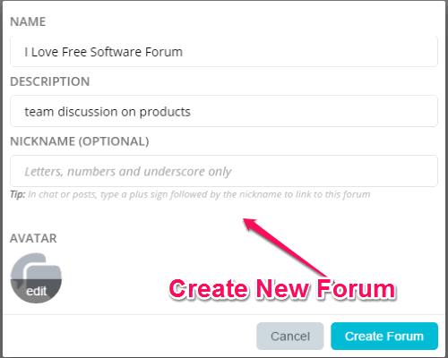 create-forum