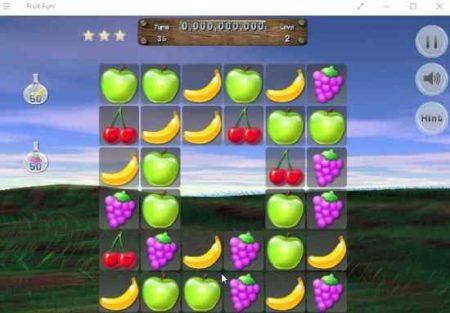 fruit fun game board