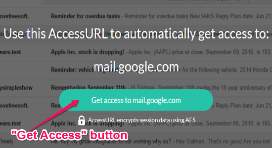 get access to button