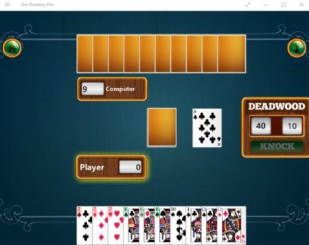 gin rummy pro game