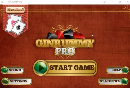 gin rummy pro home