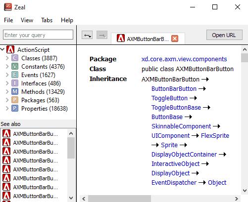 Offline Documentation Browser: Zeal